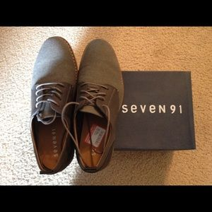 Other - New Seven 91 Mens Dress Casual Shoes 8.5 Grey